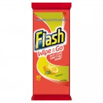 Flash Strong Weave 'Wipe & Go' Wipes Fresh Lemon 40s p.m.£1 x 10