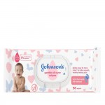 Johnsons Baby Skincare Wipes 56s x 12