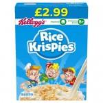 Kellogg's Rice Krispies 510g PM £2.99 x 6