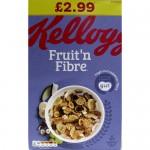 Kellogg's Fruit & Fibre 700g PM £2.99 x 4