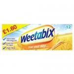 Weetabix 12s PM £1.60 x 10