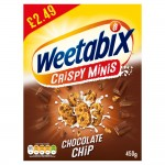 Weetabix Chocolate Minis 450g PM £2.49 x 5