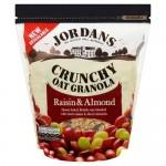 Jordans Crunchy Raisin & Almond 750g x 4