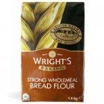 Wrights Strong Wholemeal Bread Flour 1.5Kg x 5