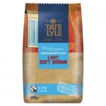 Tate & Lyle Light Brown Sugar 500g x 10
