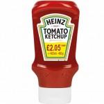 Heinz Tomato Ketchup 460g PM £2.05  X 10