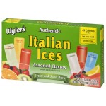 Wyler's Authentic Italian Ices Assorted Flavors 1.5oz (42.5g) 20's x 12