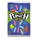 Sour Punch Bites Strawberry, Blue Raspberry & Green Apple 5oz (142g) x 12