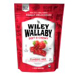 Wiley Wallaby Red Aussie Licorice 7.05oz (200g) x 12