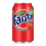 Fanta Strawberry Soda Can 12oz (355ml) x 12