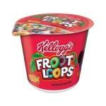 Kellogg's Froot Loops Cup 1.5oz (42g) x 6