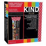 Kind Plus Bars Dark Chocolate Cherry Cashew + Antioxidants Gluten Free 40g x 12