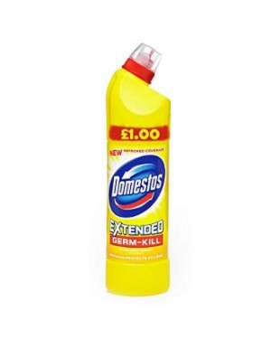 Domestos thick bleach Citrus (yellow) 750ml PM £1 x 9