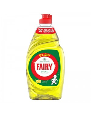 Fairy Liquid Lemon 433ml P.M.£1.29 x 10
