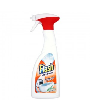 Flash Spray With Bleach 450ml x 10