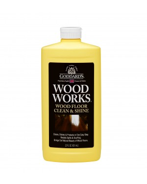Goddard's Wood Works Floor Clean and Shine 22oz (651ml)