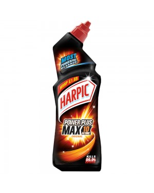 Harpic Limescale Remover Power+ (Black) PM £1.69 750ml x 6