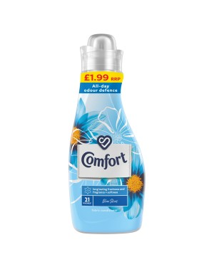 Comfort Concentrate Fabric Conditioner Blue 750ml PM £1.99 x 8