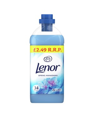 Lenor Concentrate Spring Awakening 1.19L/34W (Blue) PM £2.49 x 8