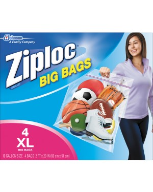 Ziploc Big Bag XL 4's