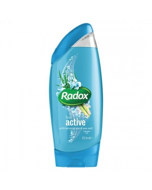 Radox Shower 2 in1 Active (light blue) 250ml