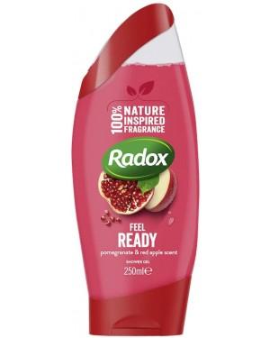 Radox Shower Gel Feel Ready 250ml x 6
