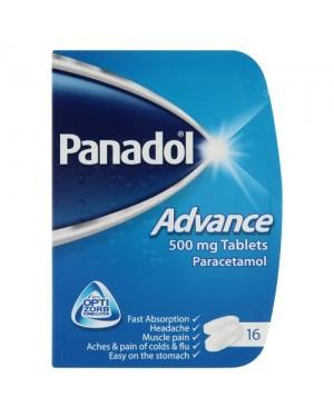 Panadol Advance 500mg Tablets 16s x 12