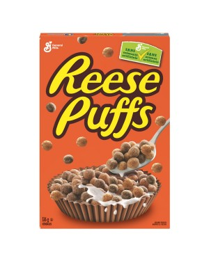 Reeses Puffs Cereal 326g x 12
