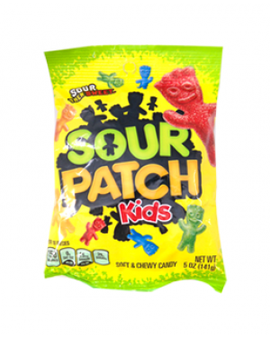 Sour Patch Kids Hanging Bags 5oz (141g) x 12
