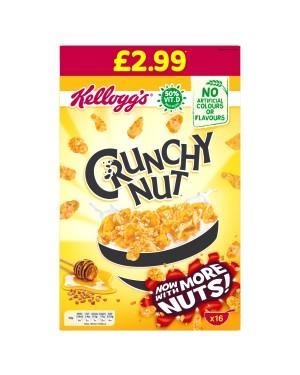 Kellogg's Crunchy Nut PM £2.99 500g x 8