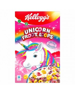 Kelloggs Unicorn Froot Loops 375g x 6