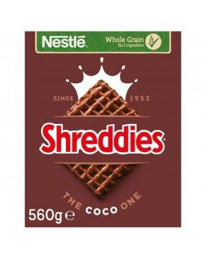 Nestle Coco Shreddies 560g x 8