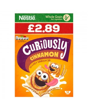 Nestle Curiously Cinnamon 375g PM £2.89 x 6
