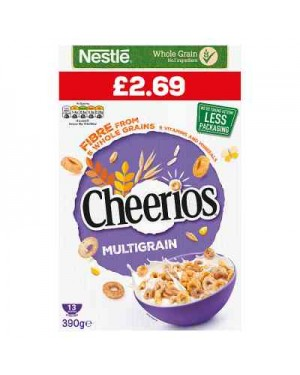 Nestle Cheerios 390g p.m.£2.69 x 5