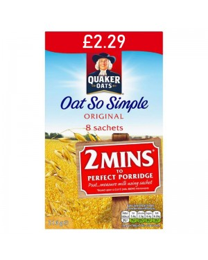 Quaker Oat So Simple Original PM £2.29 8 x 27g x 6