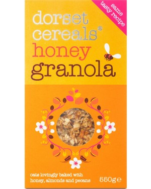 Dorset Cereals Honey Granola 500g x 5