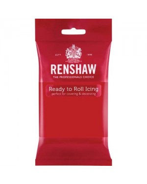 Renshaw Poppy Red Professional Icing 250g