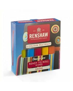Renshaw Neons Multi Pack Icing 100g