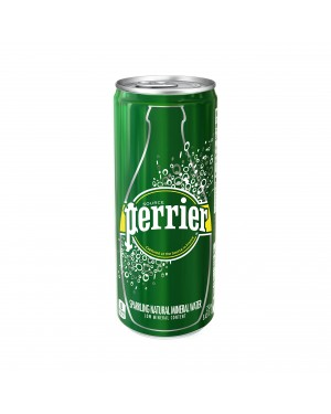 Perrier Sparkling Mineral Water 250ml (Slim Can) x 35