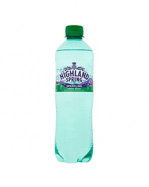 Highland Spring Sparkling Water 500ml x 24