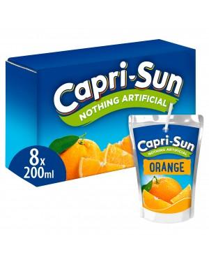 Capri Sun Orange 8PK 200ml x 4