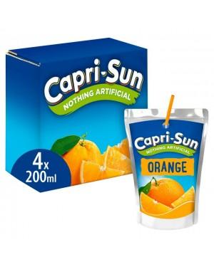 Capri Sun Orange 4PK 200ml x 8