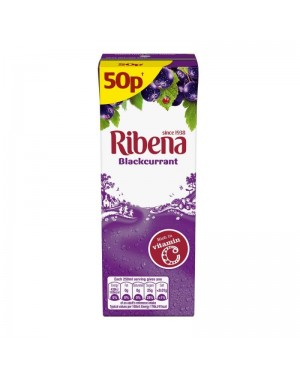 Ribena Blackcurrant Juice Drink PM 50p 250ml x 24