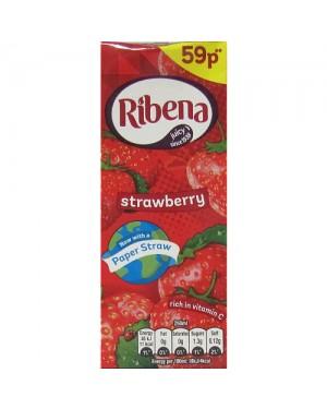 Ribena Strawberry Juice Drink PM 59p 250ml x 24