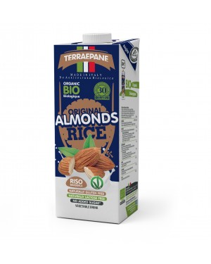 Terraepane Original Almonds Rice Drink with Calcium 1L x 10