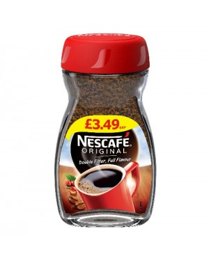 Nescafe Original Coffee Granules PM £3.49 100g  x 12
