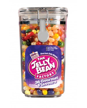 Jelly Bean Acrylic Jar 700g x 6