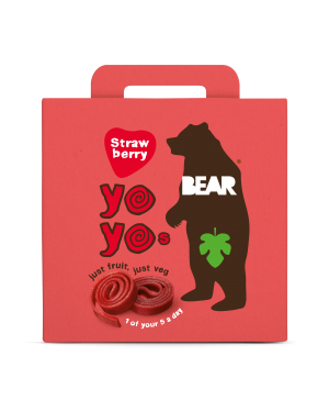 Bear Yoyo Multipack Strawberry (5 x 20g) x 6