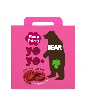 Bear Yoyo Multipack Raspberry (5 x 20g) x 6