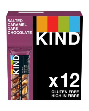 Kind Bars Salted Caramel Dark Chocolate (Dairy) 40g x 12